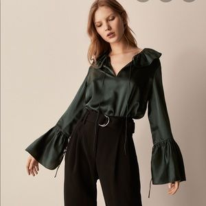 Massimo dutti silk blouse